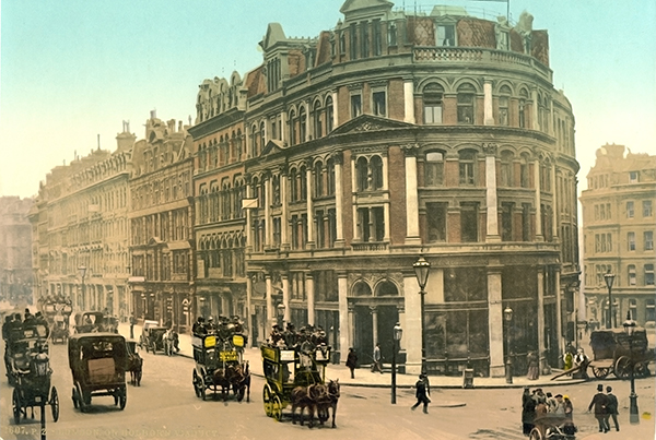 Holborn Viaduct, London, England – Photochrom 3i